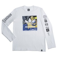 adidas A$AP Ferg Long Sleeve Tee - White | adidas US