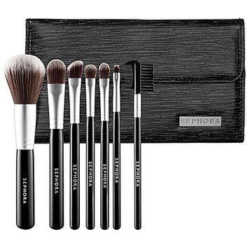 SEPHORA COLLECTION Luxe Anti-Bacterial Brush Set