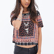 Boxy Ornate Top