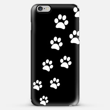 Paws Prints - Black iPhone 6 Plus case by Nicklas Gustafsson   Casetify