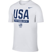 Men's Nike White Team USA Rio Training Performance T-Shirt