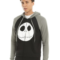 The Nightmare Before Christmas Jack Face Contrast Hoodie