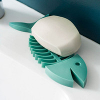 Flounder Around Soap Dish
