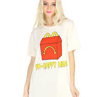 UNHAPPY MEAL TEE