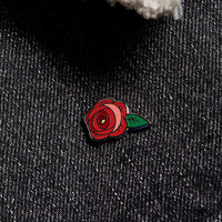 Rosebud Pin - Urban Outfitters