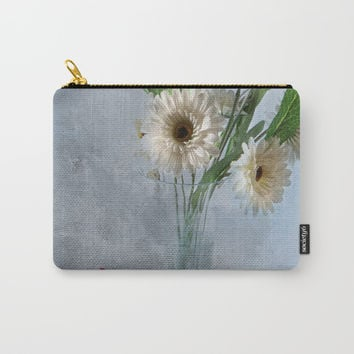 Wildflower Still LIFE Carry-All Pouch by Theresa Campbell D'August Art