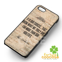 Harry Potter Albus Dumbledore Quote -3 for iPhone 4/4S/5/5S/5C/6/ 6+,samsung S3/S4/S5/S6 Regular/S6 Edge,samsung note 3/4
