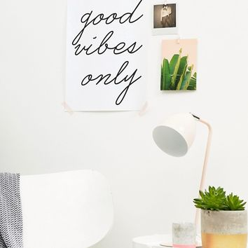 Honeymoon Hotel Good Vibes Only A3 Wall Art at asos.com