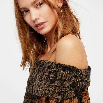 Free People Botanical Sweater