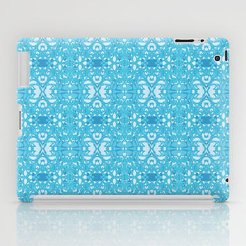 So Blue Pattern iPad Case by KCavender Designs
