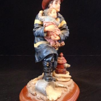 "Red Hats Of Courage ""Hero"" Figurine"