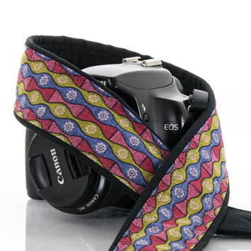 268 Stripe Camera strap, dSLR, SLR, Mirrorless