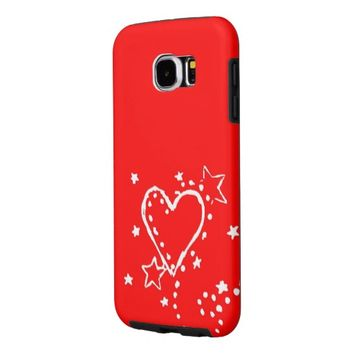 Heart Samsung Galaxy S6 Case Samsung Galaxy S6 Cases
