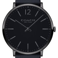 COACH Easton Leather Strap Watch, 40mm | Nordstrom