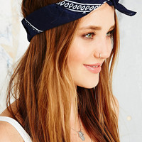 Vintage Renewal Bandana Scarf in Blue - Urban Outfitters