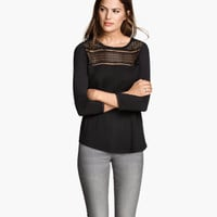 H&M Top with Lace $14.95