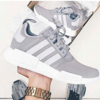"""Adidas"" Women Fashion Trending Running Sports Shoes Grey"