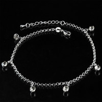 Ladies Sexy New Arrival Gift Cute Shiny Jewelry Rhinestone Stylish Korean Accessory Vintage Anklet [8171785671]