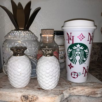 Custom HOT or COLD Starbucks Cup