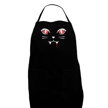 Vamp Kitty Dark Adult Apron
