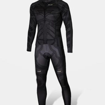 Batman Functional Breathable fabric Cycling Clothes Cycle Equipment = 1927865092
