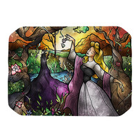 "Mandie Manzano ""I Know You"" Fairytale Forest Place Mat"
