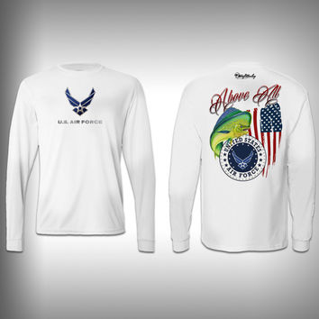 Armed Forces Air Force - Performance Shirt - Fishing Shirt