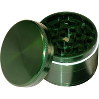 Aluminum Herb Grinder - 4 part - 56mm - Green