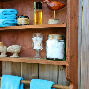 Wooden Shelf - Furniture - Cabinet - Storage - Kitchen, Bath, Home Decor 24 x 24 x 5.5