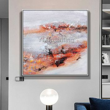 Abstract painting acrylic painting on canvas huge size Wall Art Picture for living room nodric abstract original cuadros abstractos painting