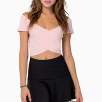 Take Notice Peplum Skirt $30