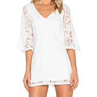 x REVOLVE Charlotte Dress in White