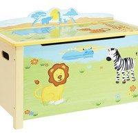 Guidecraft Savanna Smiles Toy Box - G86804