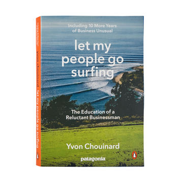 PATAGONIA LET MY PEOPLE GO SURFING BOOK