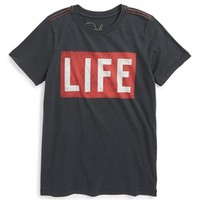 Boy's Peek 'Life' Graphic T-Shirt,