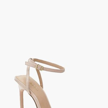 Square Toe Two Part Heels | Boohoo