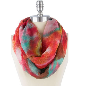 Dreamy Watercolor Scarf