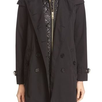 Burberry 'Churchdale' 3-in-1 Belted Trench Coat | Nordstrom