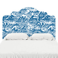 The Perfect Storm Headboard Decal