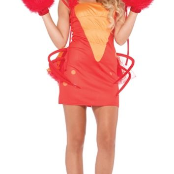 Sexy Lobster Costume, Sexy Lobster Halloween Costume, Women's Lobster Costume