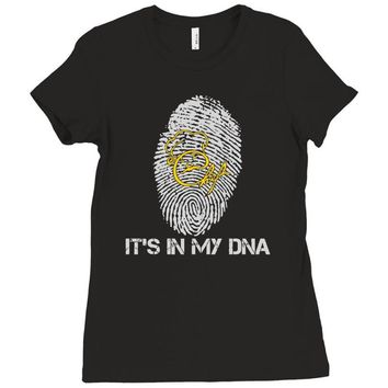chef in my dna Ladies Fitted T-Shirt