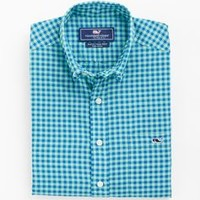 Islet Gingham Tucker Shirt