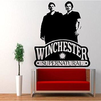 Tean Sam Dean Winchester Supernatural Vinyl Decal Sticker Pentagram Anti Possession