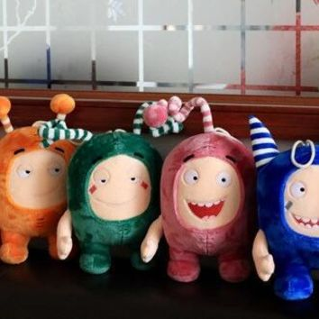 35CM Strange Treasure Of Soldiers Plush Doll Oddbods  Monste
