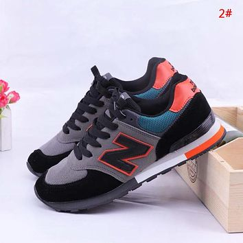 New Balance New fashion mesh couple contrast color shoes 2#