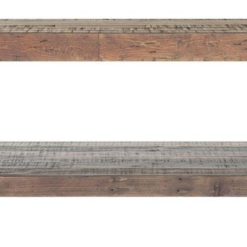 Vintage Coffee Table Bright Recycled Wood
