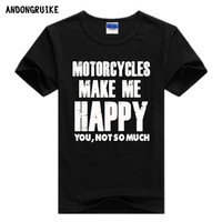 Motorcyles Make me happy you not so much harley davidson tee t-shirt shirt tqi