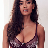 Lace Plunge Unlined Demi Bra - Body by Victoria - Victoria's Secret