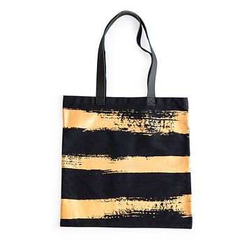 Anything Goes Tote Gold Brush