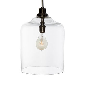 Hanging Glass Pendant Lamp by stone & aster at Gilt